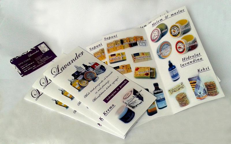 Izrada brošura i posjetnica