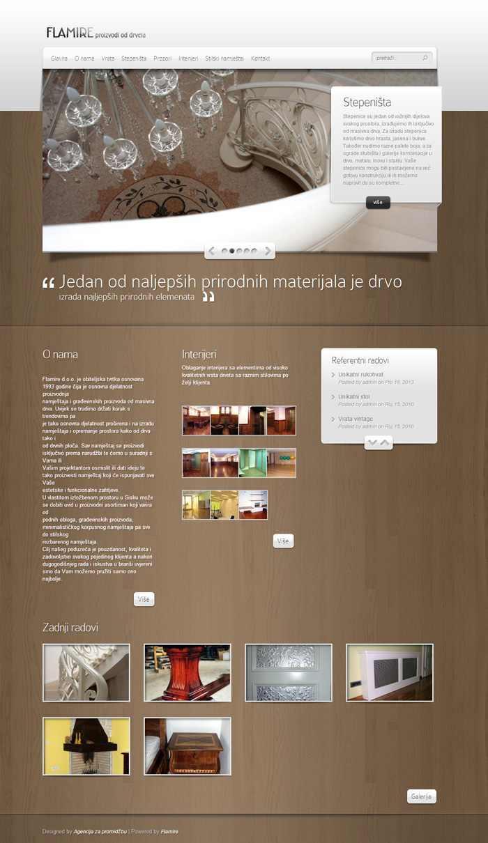 dizajn i izrada web stranice