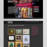 Izrada internet stranice za galeriju i suvenirnicu