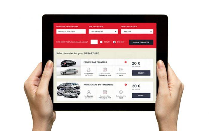Izrada web aplikacije za prijevoznike