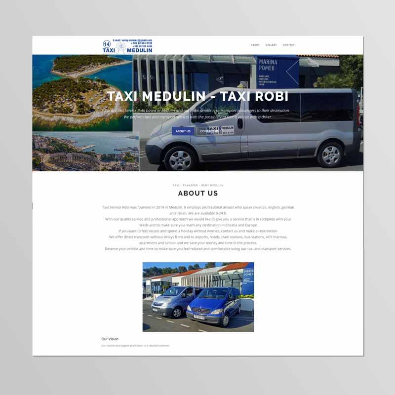 Izrada internet stranica za taxi