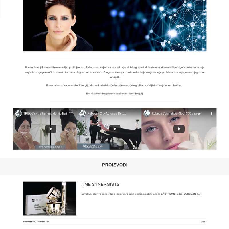 Web stranica za pakiranje